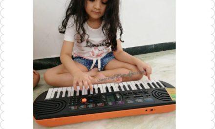 Casio Mini Keyboard- Bringing families together since Decades
