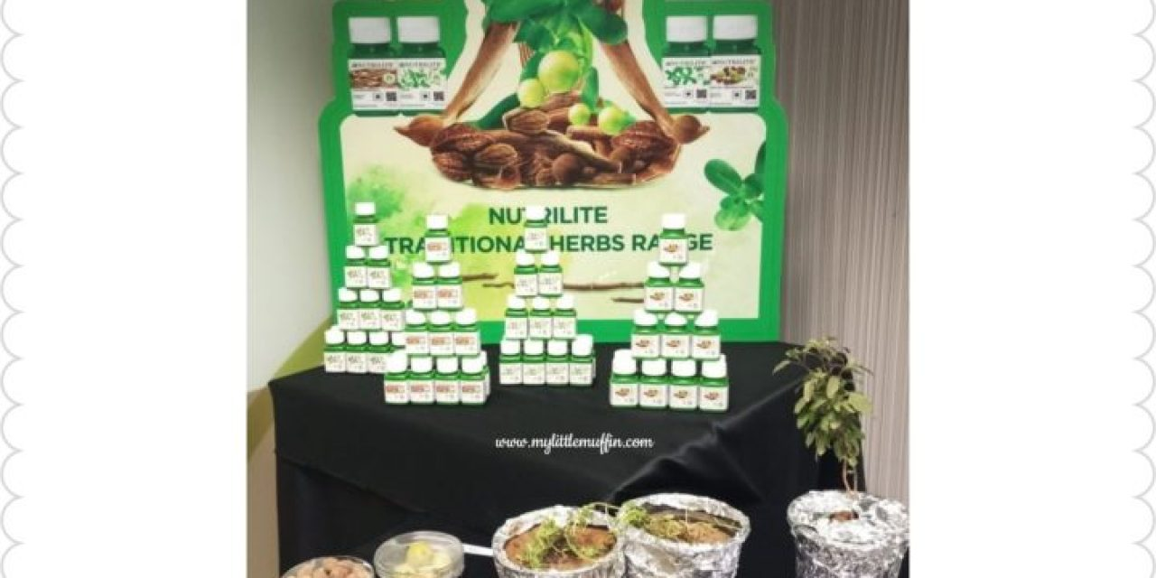 Amway Nutrilite Traditional Herbs Range – a unique combination of modern science and Indian traditional wisdom
