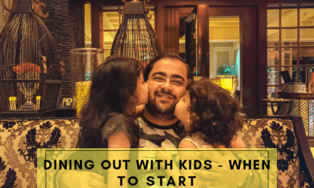 Dining out with kids – When to start