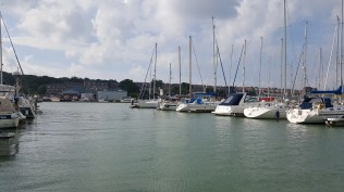 Our starting point in Cowes