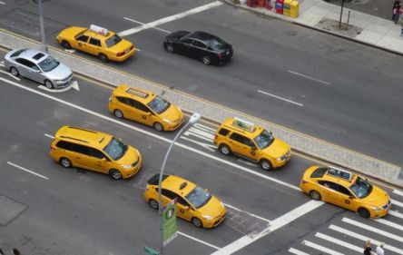 Taxis on Houston