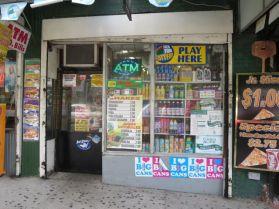 Boudega sells ice cream, cigarettes, & chewing gum (190th).