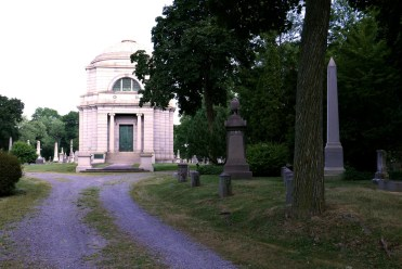 Tomb of John F. Dryden, the founder of Prudential Insurance