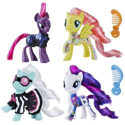 New My Little Pony The Movie All About Character Dolls Set Available On Amazon Com My Little Pony Movie Toys