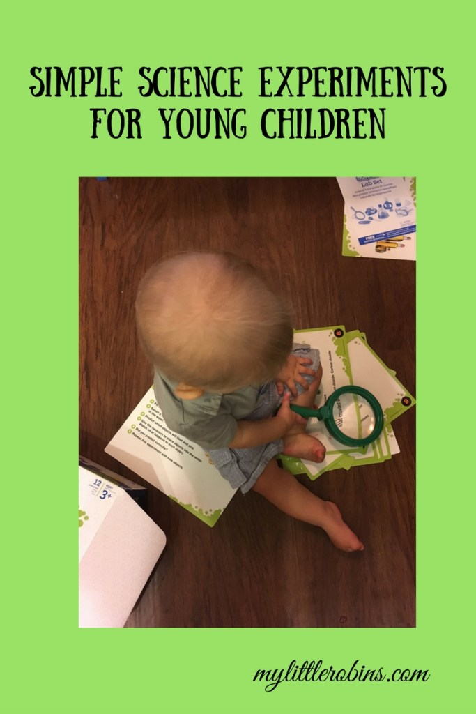 Simple Science Experiments for Young Children