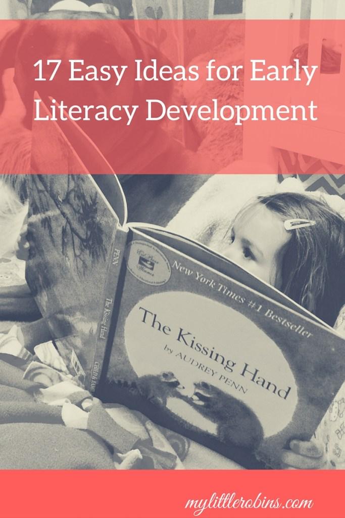 17 Easy Ideas for Early Literacy Development