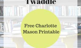 Living Books and Twaddle: Free Charlotte Mason PDF