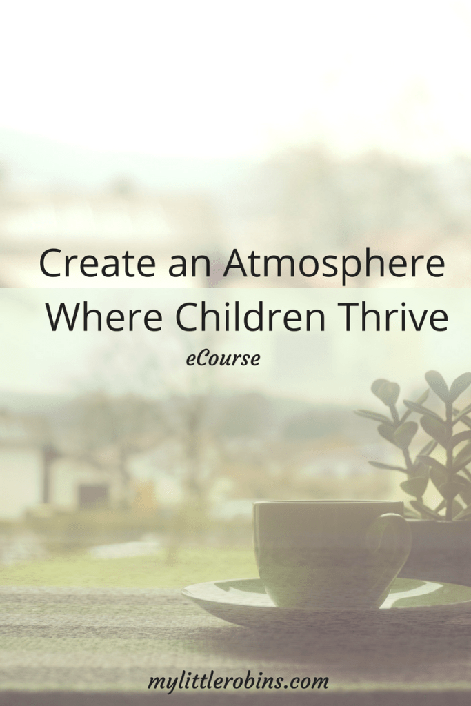 Create an Atmosphere Where Children Thrive: Review