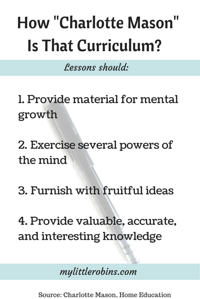 Four Tests for #CharlotteMason #Lessons. Read Charlotte Mason's words on figuring out if lessons or a #curriculum fit in with her philosophy.