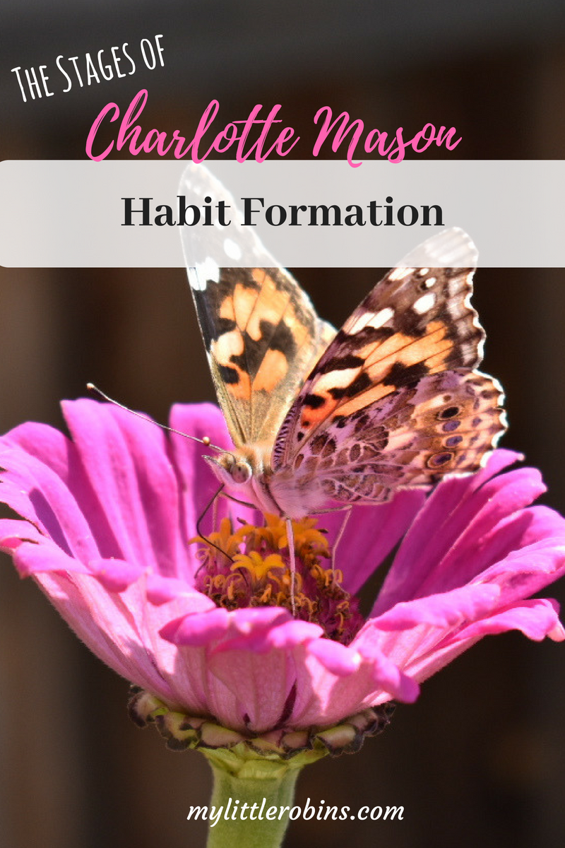 #Charlottemason described the stages of #habitformation in Home Education. #homeschool