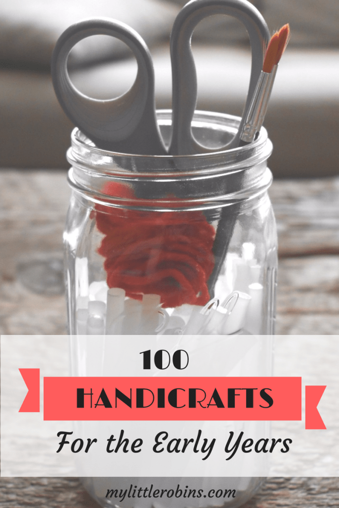 100 Handicrafts for the Early Years