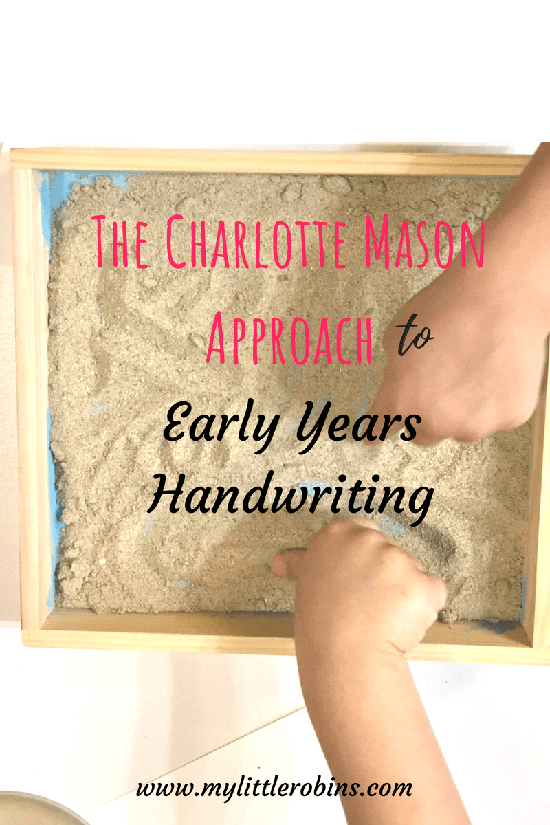 #handwriting in the #charlottemason #earlyyears should be child led, but getting into the habit of forming letters incorrectly is not a good idea, either!