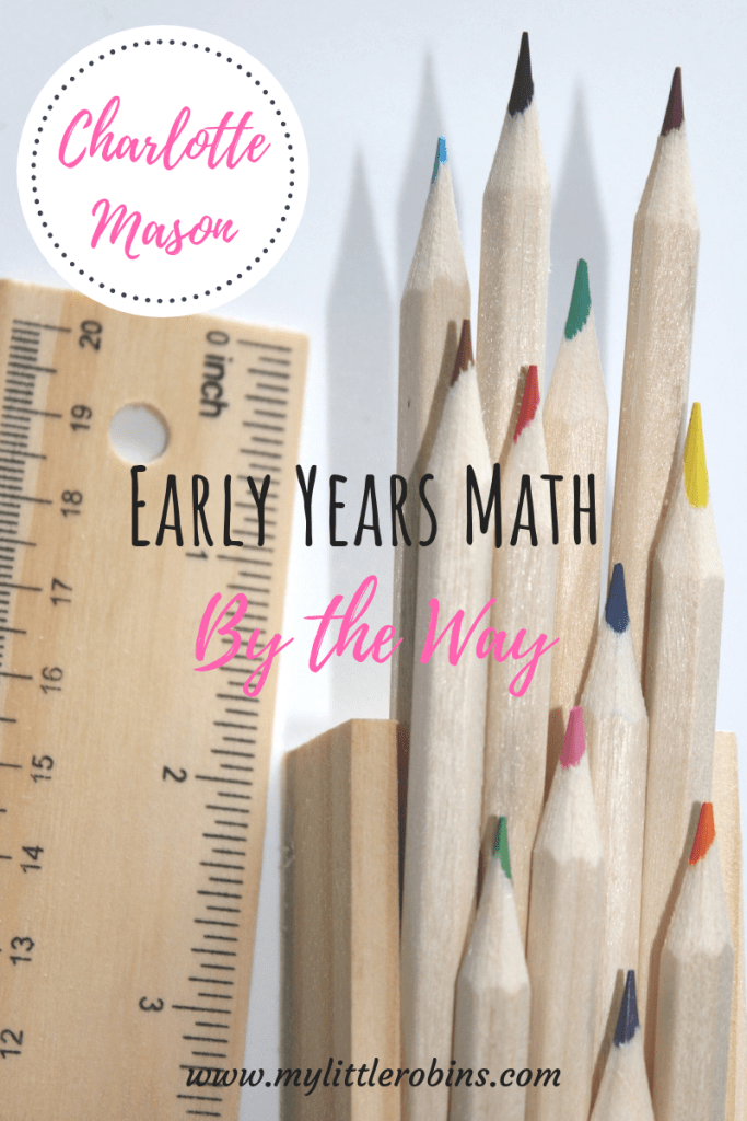 Early Years Math By The Way