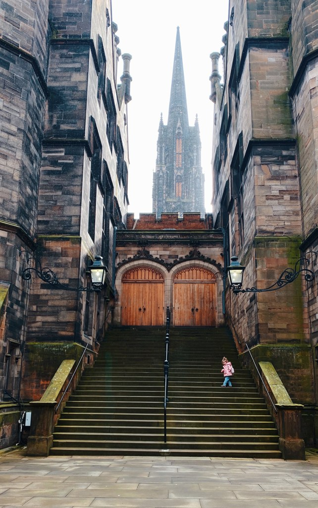 Edinburgh New College, Harry Potter inspired Location Edinburgh. JK Rowling. Edinburgh Photographer. UK parent Blogger, Mummy Blogger