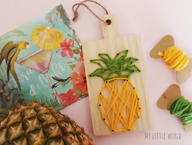 τροπικός διακοσμητικός ανανάς