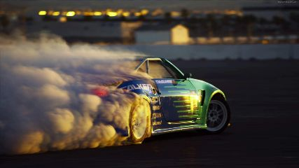 Animated gif about drift red yanyann in car by mrs blue. Car Drift Animated Wallpaper Mylivewallpapers Com