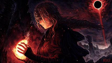 Firekeeper Dark Souls Animated Wallpaper Animated