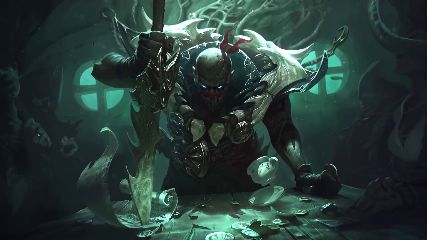 Pyke-LOL Animated Wallpaper – MyLiveWallpapers.com
