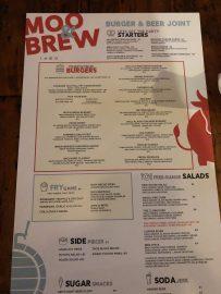 Moo & Brew Menu