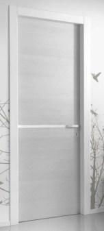 PT white laquer grey leaf door with line in middle πόρτα κάσα λάκα λευκή φύλλο γκρι Loft mylofteu