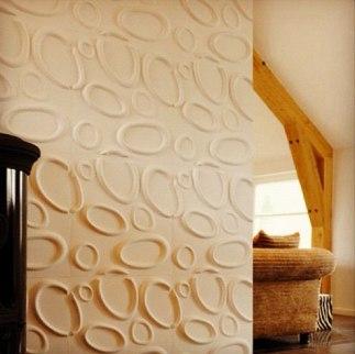 1 3d wall panels τρισδιάστατη ταπετσαρία Loft mylofteu