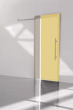 Bi-color ombra champagne 2 crystal sliding door συρόμενη κρυστάλλινη πόρτα Loft mylofteu