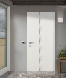 ALIAS_SET 6 Flat security door πόρτα ασφαλείας λευκό Loft mylofteu