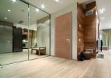 Flat security door oak Πόρτα Ασφαλείας Flat σε δρυ Loft mylofteu