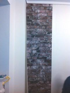 Aggelos brick wallpaper first sheet 1 ταπετσαρία τούβλου LOFT mylofteu