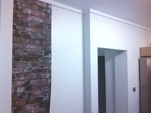Aggelos brick wallpaper first sheet 4 ταπετσαρία τούβλου LOFT mylofteu
