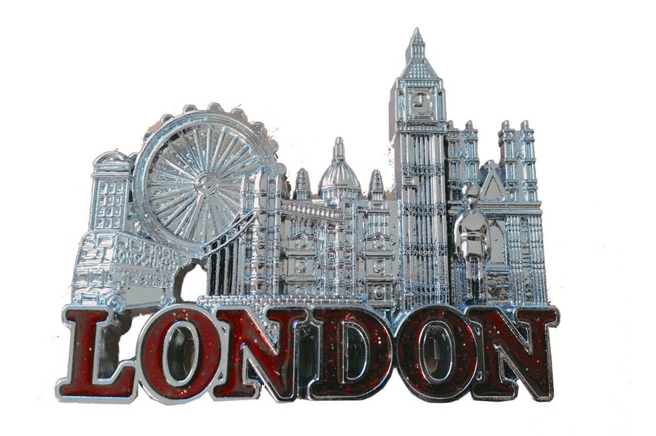 London UK Fridge Magnet Souvenirs