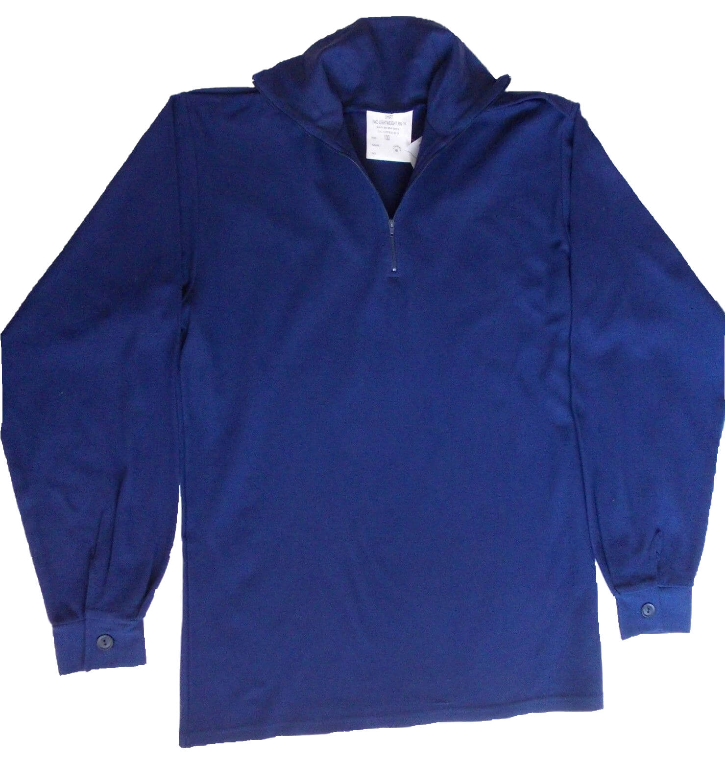Blue British Norgie Shirt