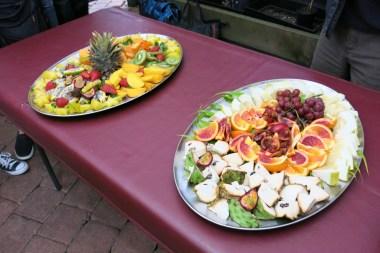 Fruit platter for us