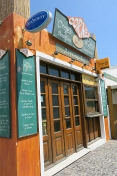 Corner Restaurant - which is closed...