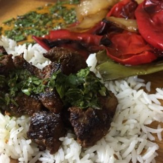 Spiced Lamb with Chimichurri
