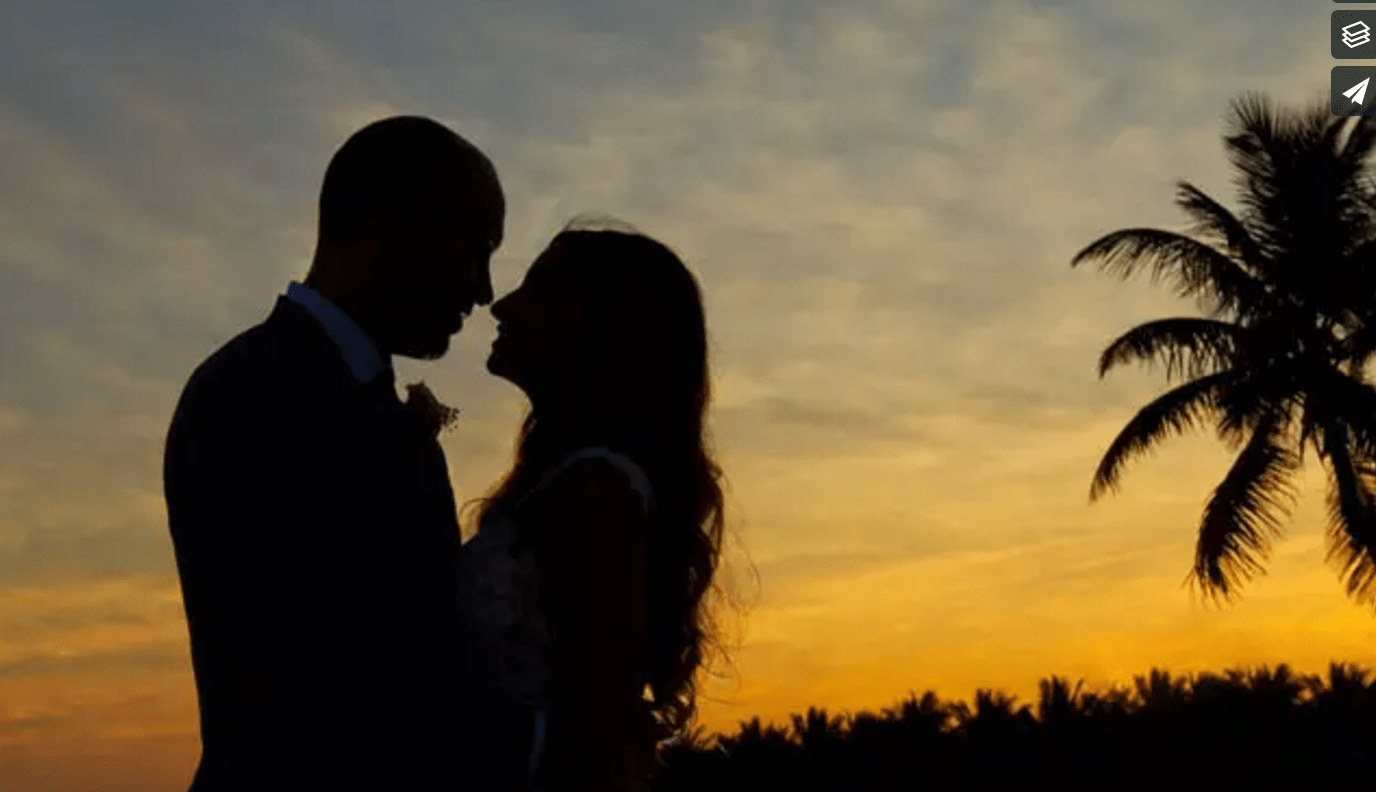 Romina and Brendan Get Married at Dreams Tulum Resort & Spa