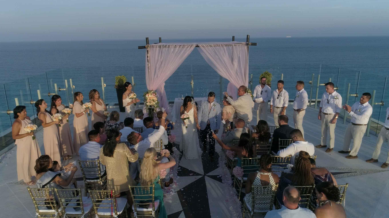 Palace Resorts Weddings - Same day Edit - Beach Palace in Cancun