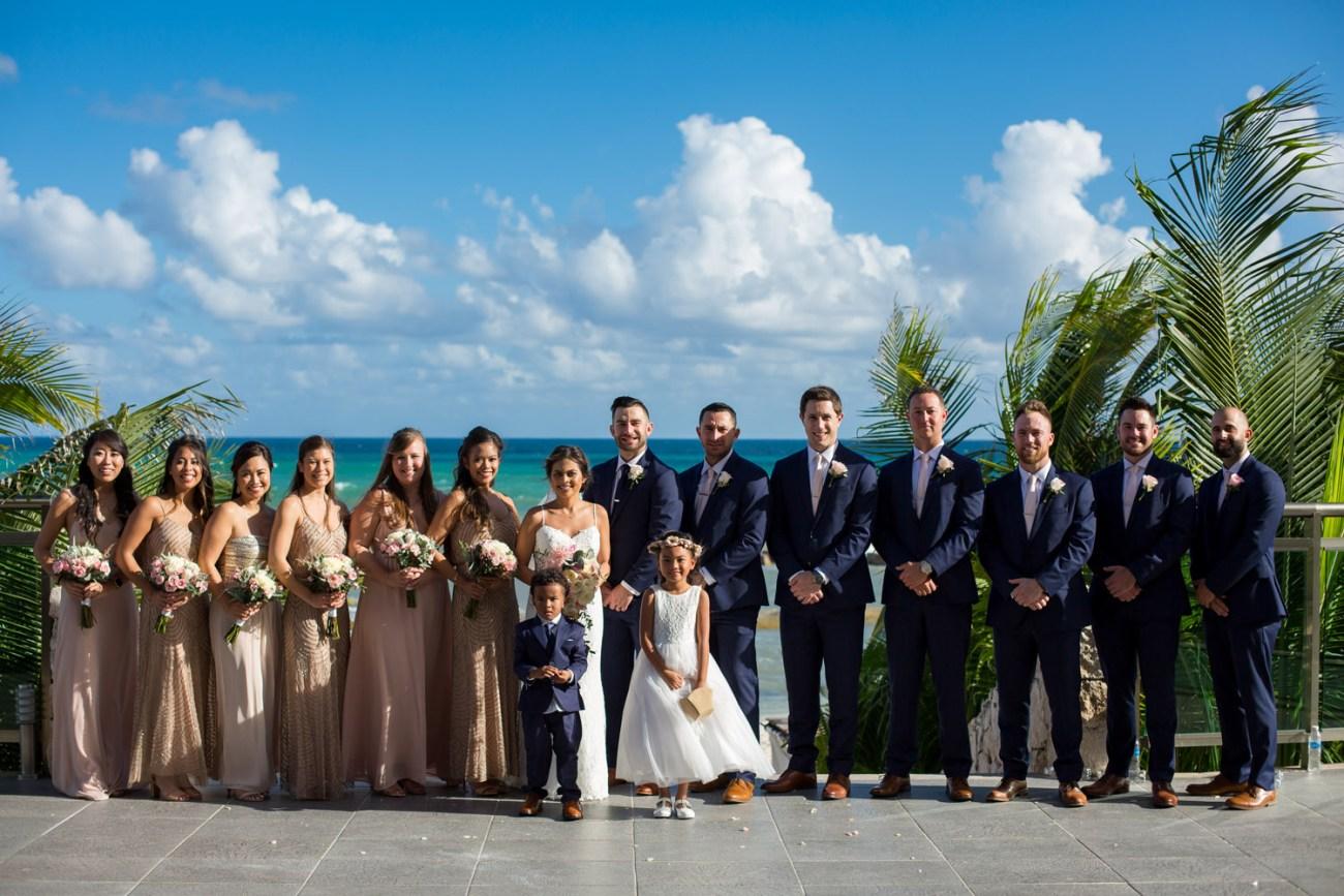 Generations Riviera Maya | Wedding Destination | Andrew and Fatima