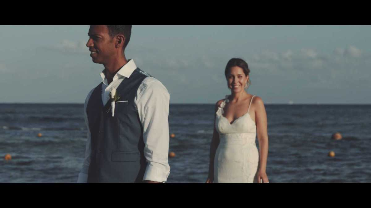 Sandos Caracol Eco Resort - Wedding Videographer - Inessa & Anthony