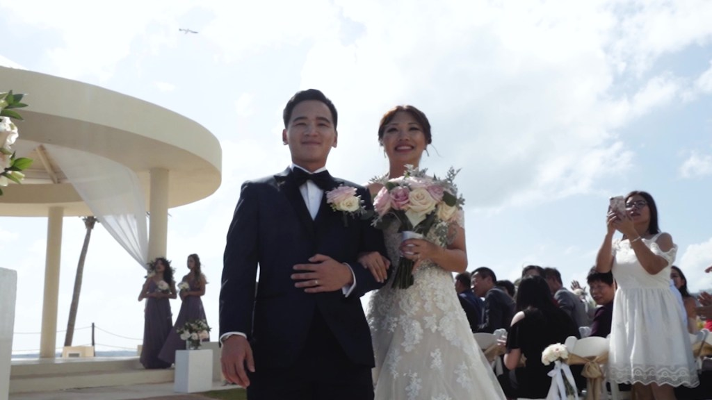 The best day, the best couple, Bravo!