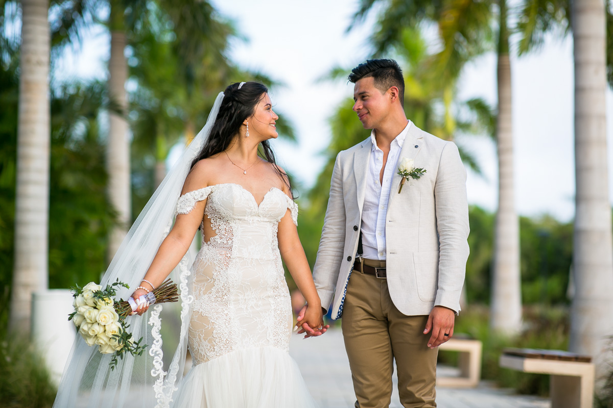 Wedding day at Ocean Riviera Paradise
