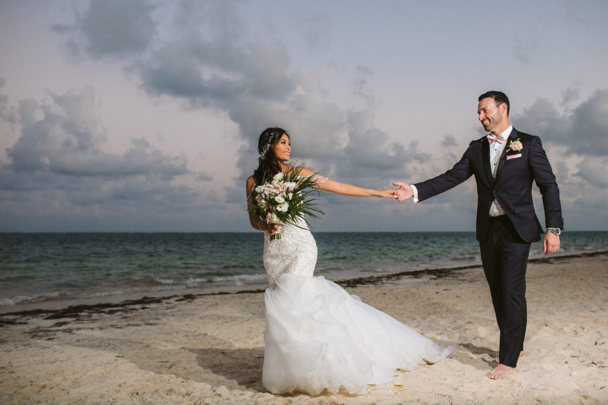 Wedding day at Dreams Riviera Maya