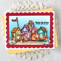 Art Impressions Dog House Cubbies