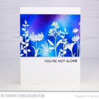 My Favorite Things Flower Silhouettes Encouragement Cards