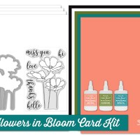MFT Flowers In Bloom Card Kit Countdown Day 1