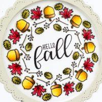 Sunny Studio Stamps Hello Fall