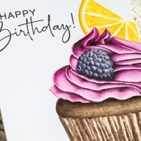 Colorado Craft Company's Big & Bold Citrus Berry Cupcake