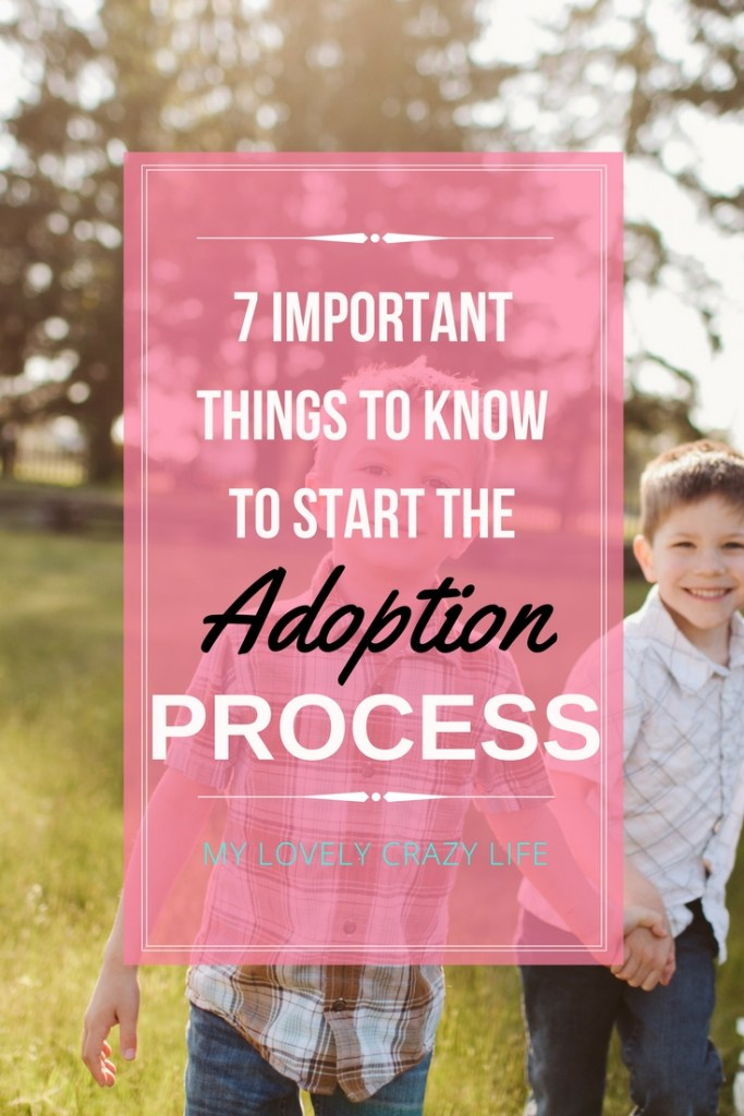 7 Important Things to Know to Start the Adoption Process