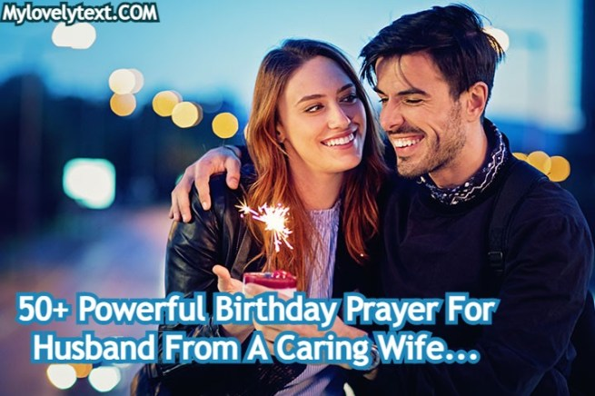 Birthday Prayer For Husband
