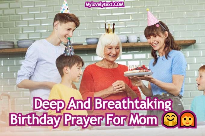 Birthday Prayer For Mom